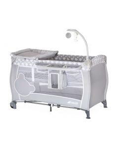 hauck Babycenter Teddy Grau