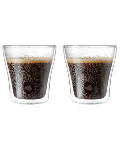 LEONARDO Kaffeebecher Dekor DUO  2er Set