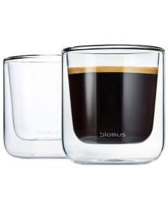 blomus Kaffee-Glas Nero 2er Set